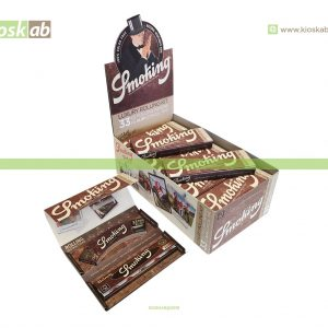 Smoking King Size Brown Luxury Rolling Kit