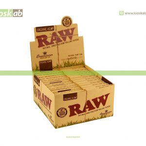 Raw King Size Slim Organic + Tips