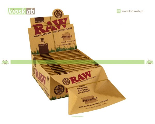 Raw Artesano Organic King Size Slim