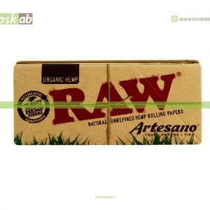 Raw Artesano King Size Slim Organic (15)