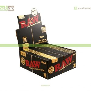 Raw Black King Size Slim (50)