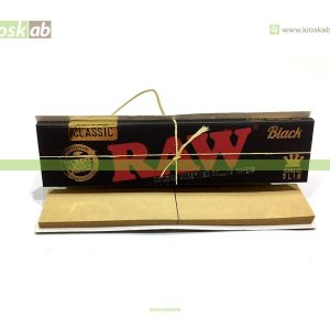 Raw Black King Size Slim +Tips (24)