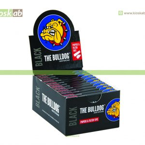 The Bulldog Amsterdam 1/4 Black + Tips