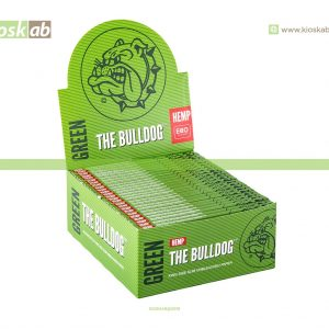 The Bulldog Amsterdam King Size Slim Green Hemp (50)