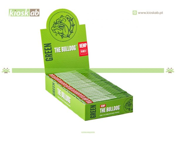 The Bulldog Amsterdam 1/4 Green Hemp