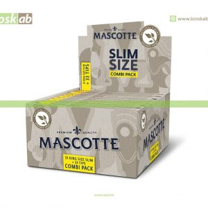 Mascotte King Size Slim Organic + Tips (25)