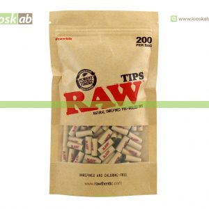 Raw Pre-Rolled Tips (200)