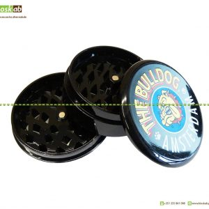 The Bulldog Amsterdam Grinder Plástico Black (12)