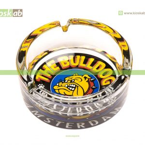 The Bulldog Amsterdam Glass Ashtray Color