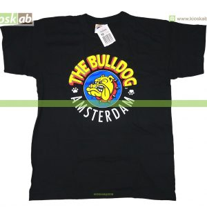 The Bulldog Amsterdam T-Shirt Original Black Medium