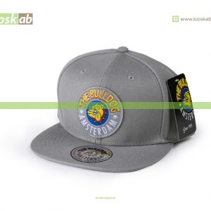 The Bulldog Amsterdam Original Cap Grey