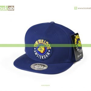 The Bulldog Amsterdam Original Cap Navy Blue