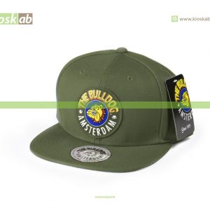 The Bulldog Amsterdam Original Cap Olive