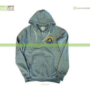 The Bulldog Amsterdam Original Zoody Grey Small