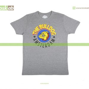 The Bulldog Amsterdam T-Shirt Original Grey Ladies Small