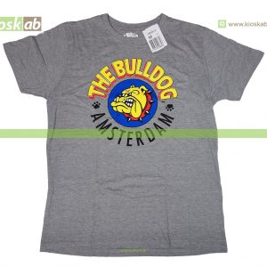The Bulldog Amsterdam T-Shirt Original Grey Medium