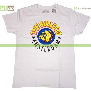 The Bulldog Amsterdam T-Shirt Original White Medium