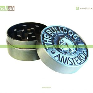 The Bulldog Amsterdam Grinder Metálico 2 Parts