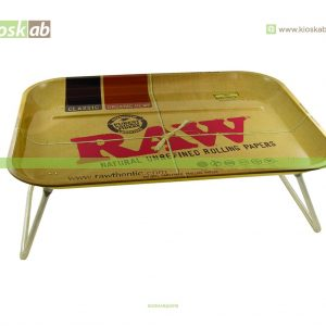 Raw Metal Rolling Tray Dinner XXL