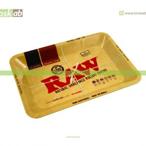 Raw Metal Rolling Tray Mini