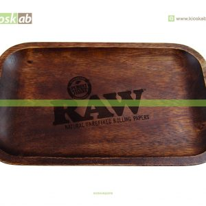 Raw Wooden Rolling Tray