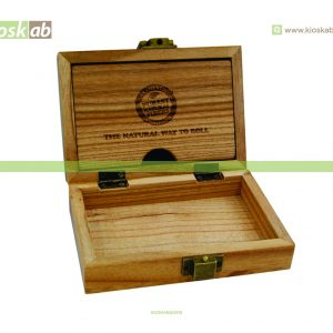 Raw Wooden Box