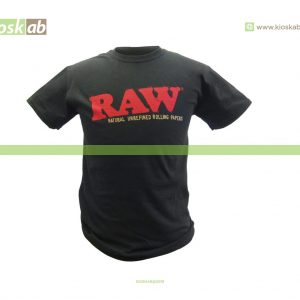 Raw T-Shirt Black M