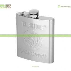 The Bulldog Amsterdam Hip Flask