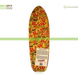 Raw Skate Board Long