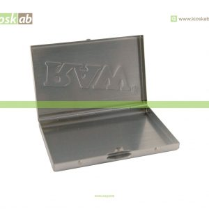 Raw Steel Paper Tin 300