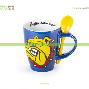 The Bulldog Amsterdam Spoon Mug Blue