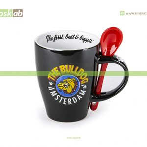 The Bulldog Amsterdam Spoon Mug Black