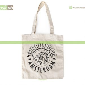 The Bulldog Amsterdam Cotton Bag Ecru