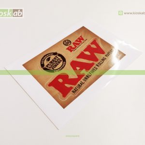 Raw Sticker Double