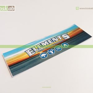 Elements Logo Sticker