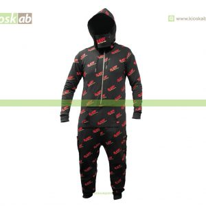 Raw Black Onesie L