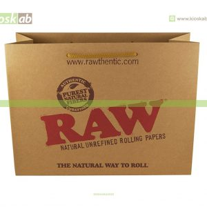 Raw Paper Bag Large