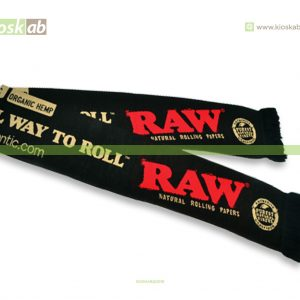 Raw Scarf Black