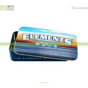Elements Tin Case Blue