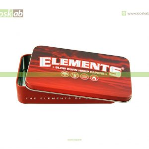 Elements Tin Case Red