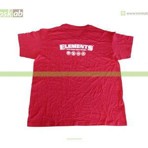 Elements T-Shirt Red M