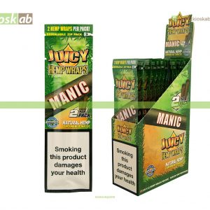 Juicy Jay´s Hemp Wraps Manic (25)