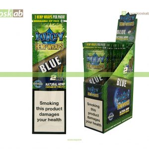 Juicy Jay´s Hemp Wraps Blue (25)