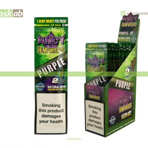 Juicy Jay´s Hemp Wraps Purple (25)