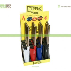 Clipper Isqueiro Pedra Menage Tube