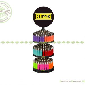 Clipper Large Soft Touch Carrousel Solid/Trans/Fluo