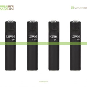 Clipper Micro Soft Touch All Black + BW