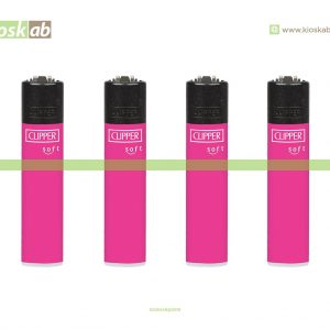 Clipper Micro Soft Touch Pink Fluo + BW