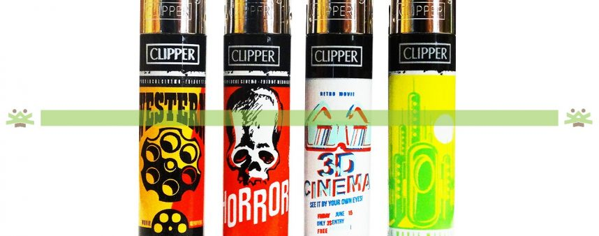 Clipper Large Decorado Movies Theater Black - 203