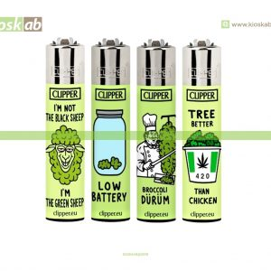 Clipper Large Decorado Think Green - 205